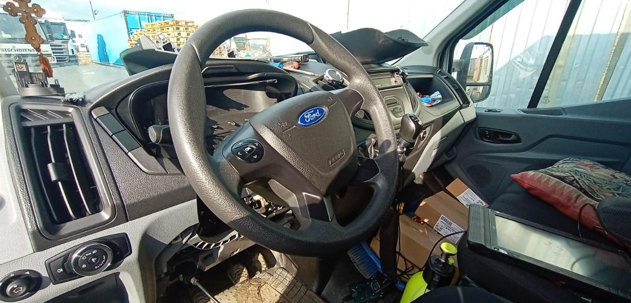 Форд Транзит-иммобилайзер включен! Ремонт на месте.